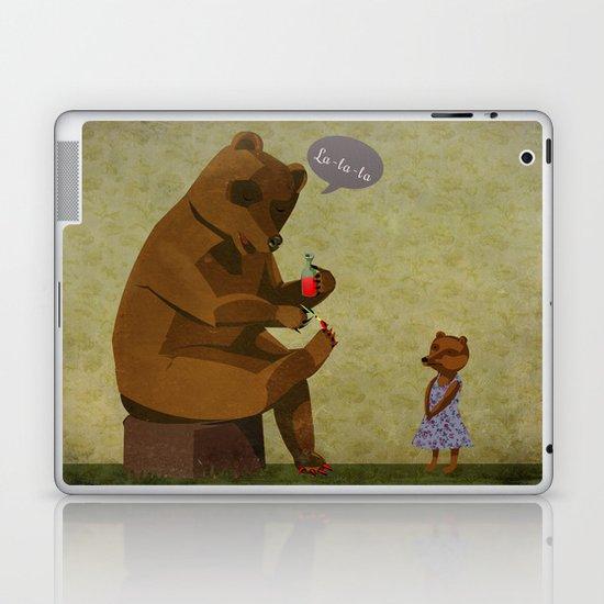 Mrs. Bear Laptop & iPad Skin