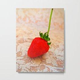 sweety strawberry! Metal Print