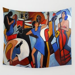 One Last Tango Wall Tapestry