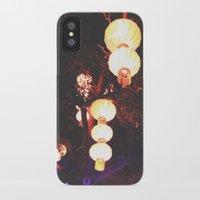 lanterns iPhone & iPod Cases featuring Lanterns by Kaartik Gupta