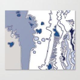 Blue Ceiba Canvas Print