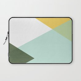 Geometrics - citrus & concrete Laptop Sleeve