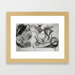 see no evil Framed Art Print