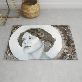 Haloed Lady For Sale!!! Rug
