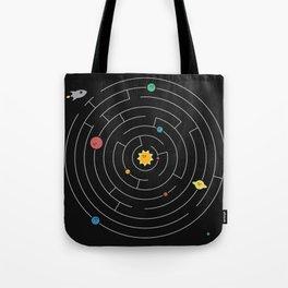 Planetary Maze Tote Bag