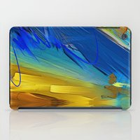 the strokes iPad Cases featuring Testing Strokes by Robin Curtiss