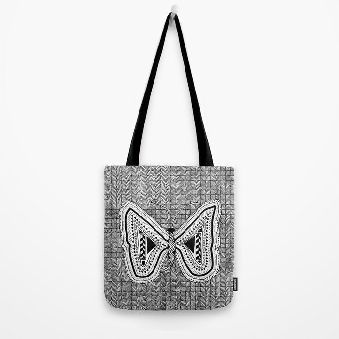 Hopeful Butterfly Tote Bag