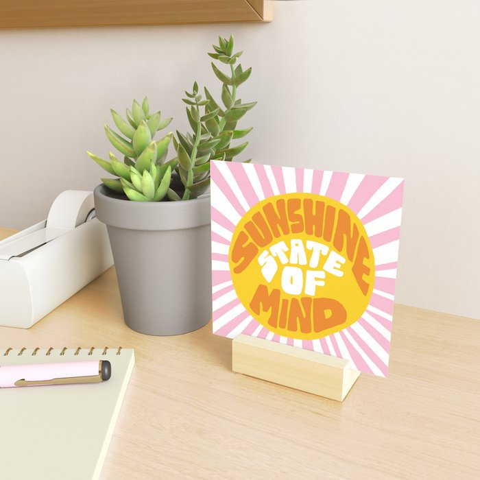 Sunshine Vibes Mini Art Print