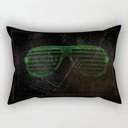 Electro Glasses Rectangular Pillow