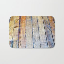 Floorboards Bath Mat