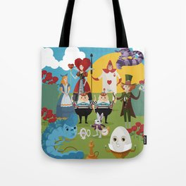 alice in wonderland collection Tote Bag