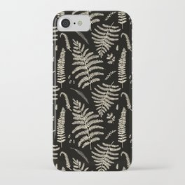Fern Pattern 2 iPhone Case