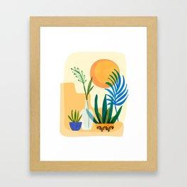 Southwestern Sunset Framed Art Print