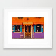 Burano Island VI Framed Art Print
