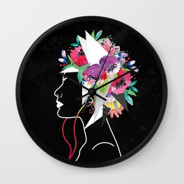 Blowing Mind Music Wall Clock