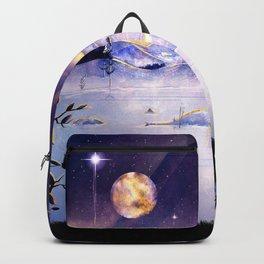 Moon Lake Scenery Backpack