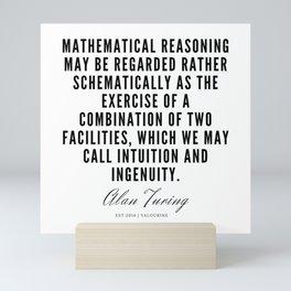6   | Alan Turing Quotes  | 190716 | Mini Art Print