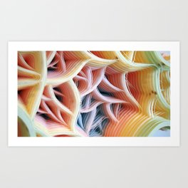 Patiflasmic Plasmatic Gestation Movement #2 Art Print