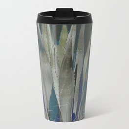 GRUBBY GREY ANTIQUE AGAVE CACTUS PIC Travel Mug