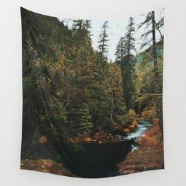 McKenzie River Trail - Blue Pool Wall Tapestry