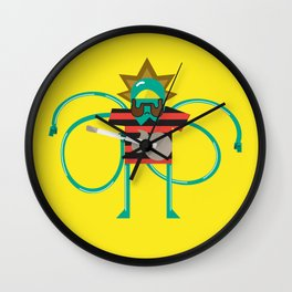 Bob Rock Wall Clock