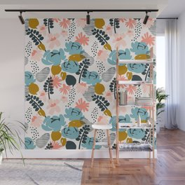 late summer floral Wall Mural