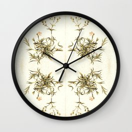 gypsophila repens Wall Clock