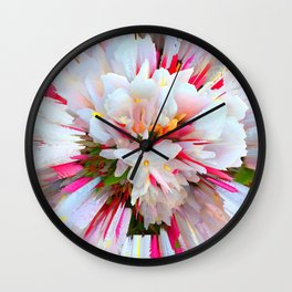 Flowers of  Pure Love Essence Wall Clock