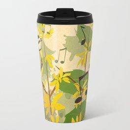 Blue Tit in Spring Travel Mug