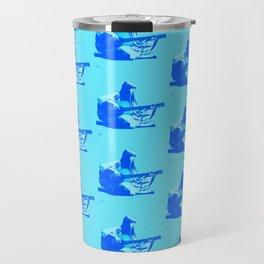 Blue Songbird Joni Mitchell Travel Mug