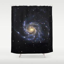 Spiral Galaxy M101 Shower Curtain