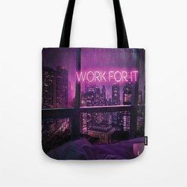 Neon Light Inspiration Tote Bag