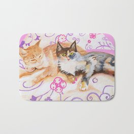 Bonnie and Clyde Bath Mat