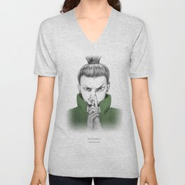 Shikamaru Nara - what a drag Unisex V-Neck