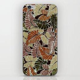 50's bongo leaf iPhone Skin