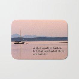 Set To Sail Bath Mat