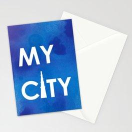 MyCity-Delhi-BlueA Stationery Cards