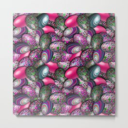 Liberty Eggs Metal Print