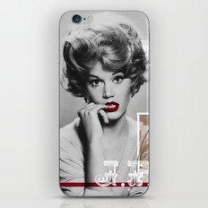 J.F. Collage iPhone & iPod Skin
