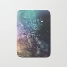 Polychrome Moon Bath Mat