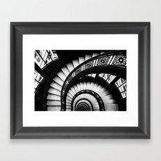 The Downward Spiral Framed Art Print