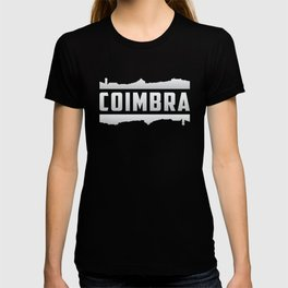 Coimbra Portugal City Skyline Cityscape Funny Gift T-shirt