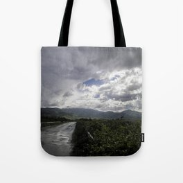 After the storm II - on the road Tote Bag