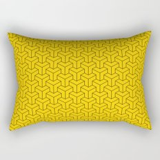 Interlocked Rectangular Pillow