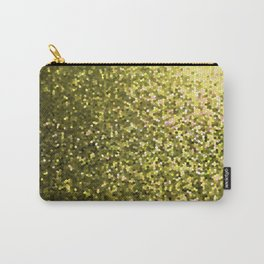 Mosaic Sparkley Texture Gold G188 Carry-All Pouch