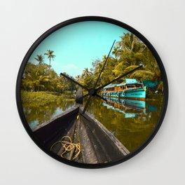 India's Reflection Wall Clock