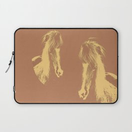 Double Pony Laptop Sleeve