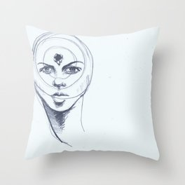 Brainwashed America Throw Pillow