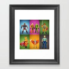 Retro Plastic  Framed Art Print