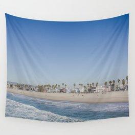 California Dreamin - Venice Beach Wall Tapestry